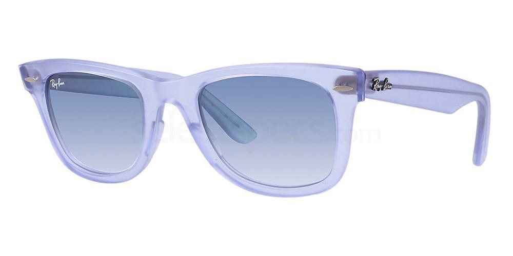 Ray-Ban lilac transparent frame