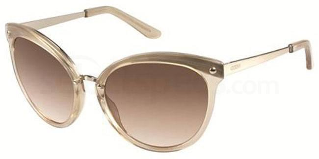 nude sunglasses guess