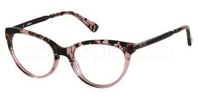 cat eye 60s glasses guess