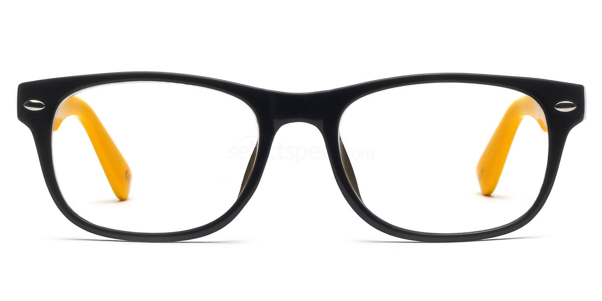 Black and Yellow Glasses at SelectSpecs