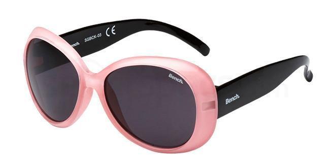 bench kids sunglasses pink