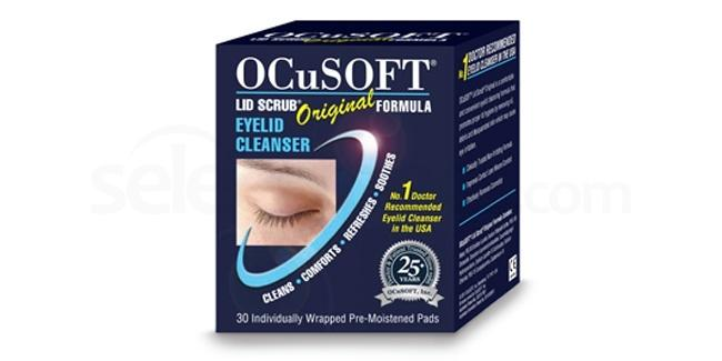 eyelid cleaning pads blepharitis