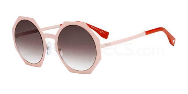hexagon sunglasses fendi ss16