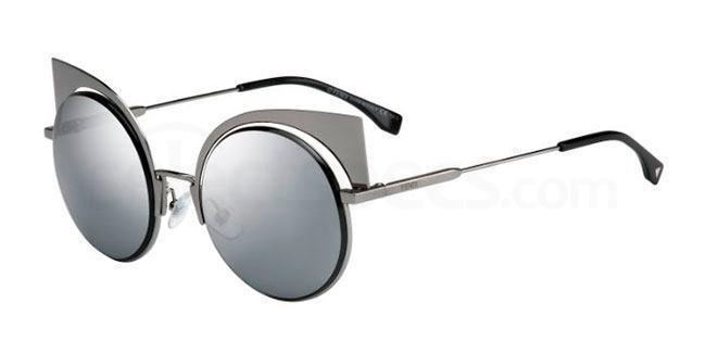 Fendi FF 0177/S sunglasses black