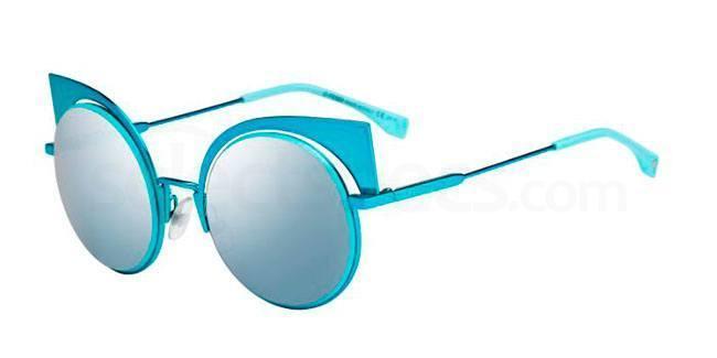 Fendi FF0177/S sunglasses aqua blue