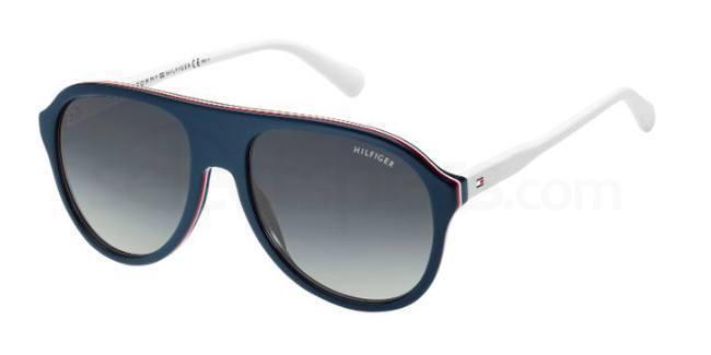 tommy hilfiger aviator sunglasses men women
