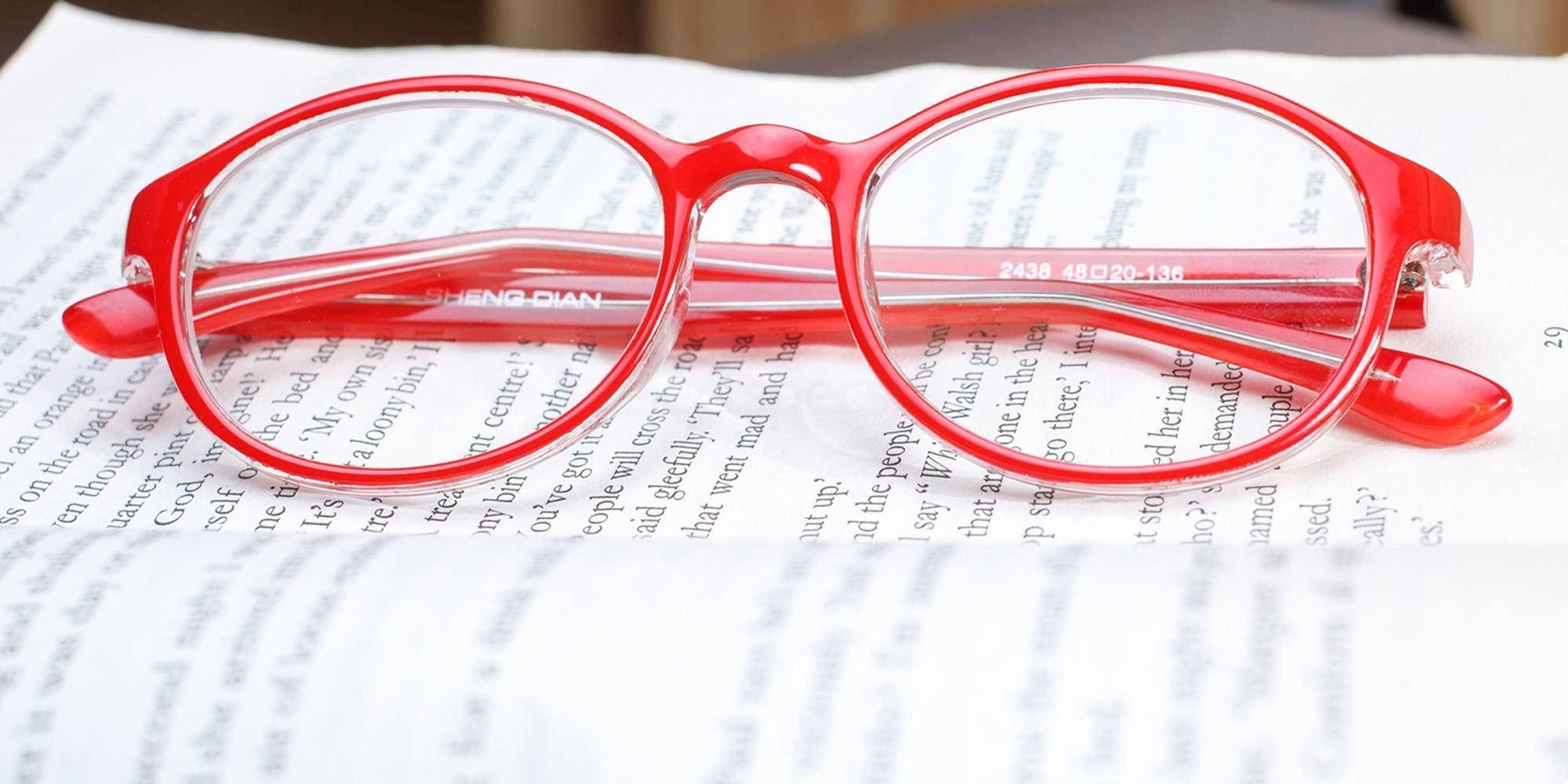 infinity-round-circle-budget-prescription-glasses-red