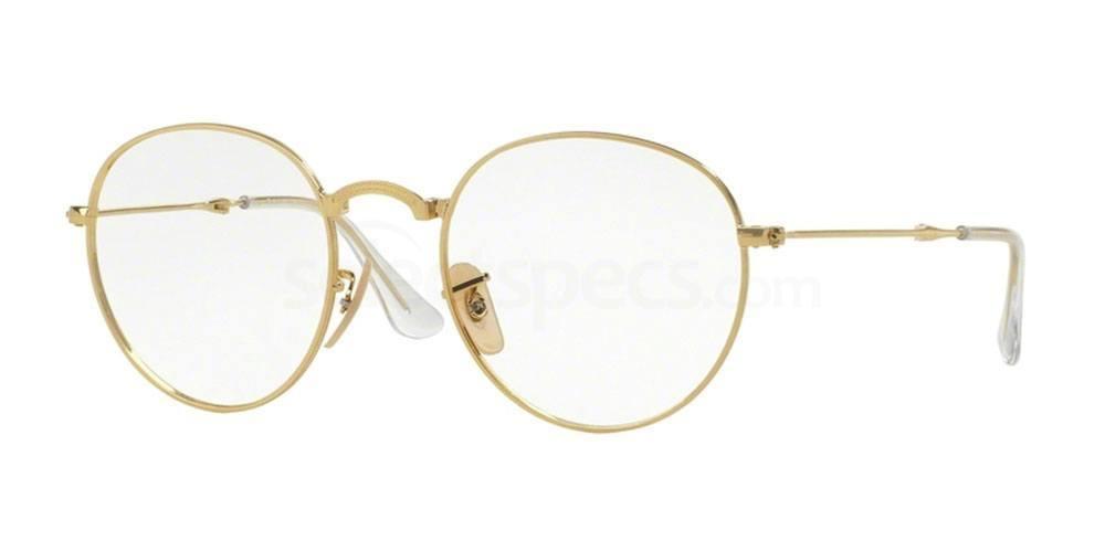 Ray Ban RX3532V round glasses