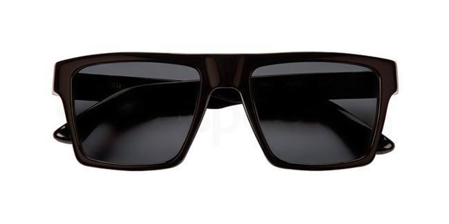 Black sunglasses squared