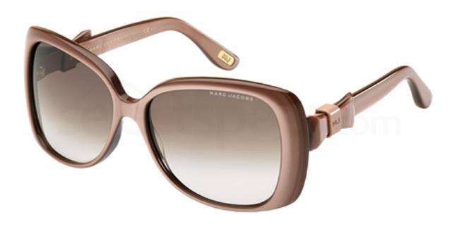 nude sunglasses marc jacobs
