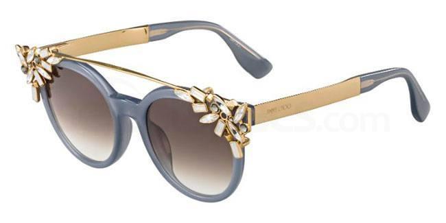 jimmy choo clip on sunglasses crystal