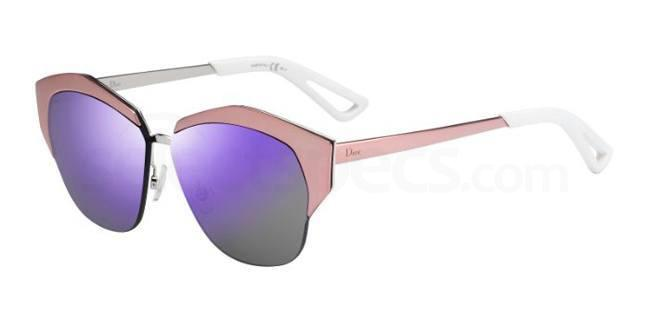 Dior mirrored violet sunglases
