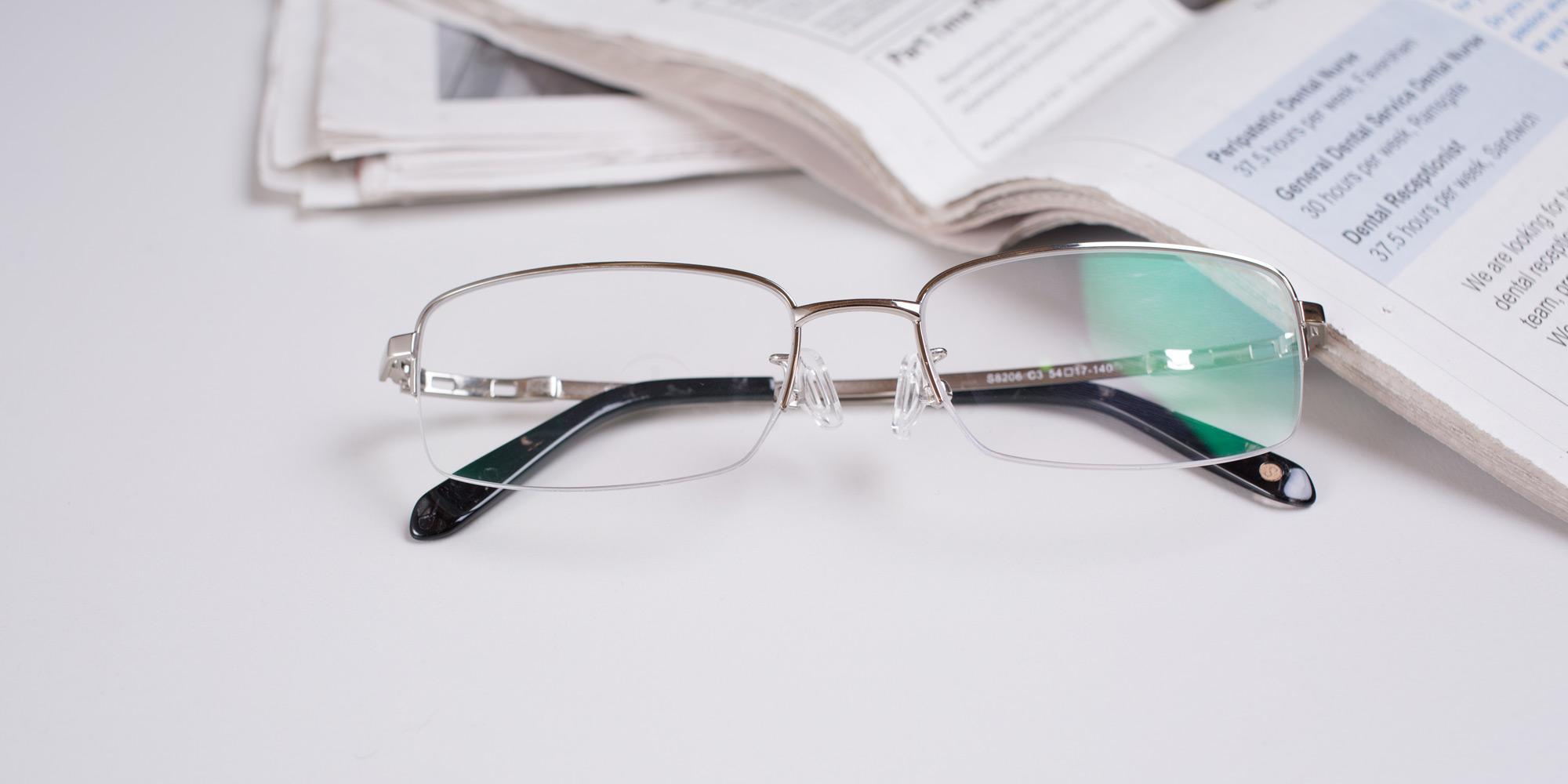 Hallmark S8206 Titanium glasses at SelectSpecs