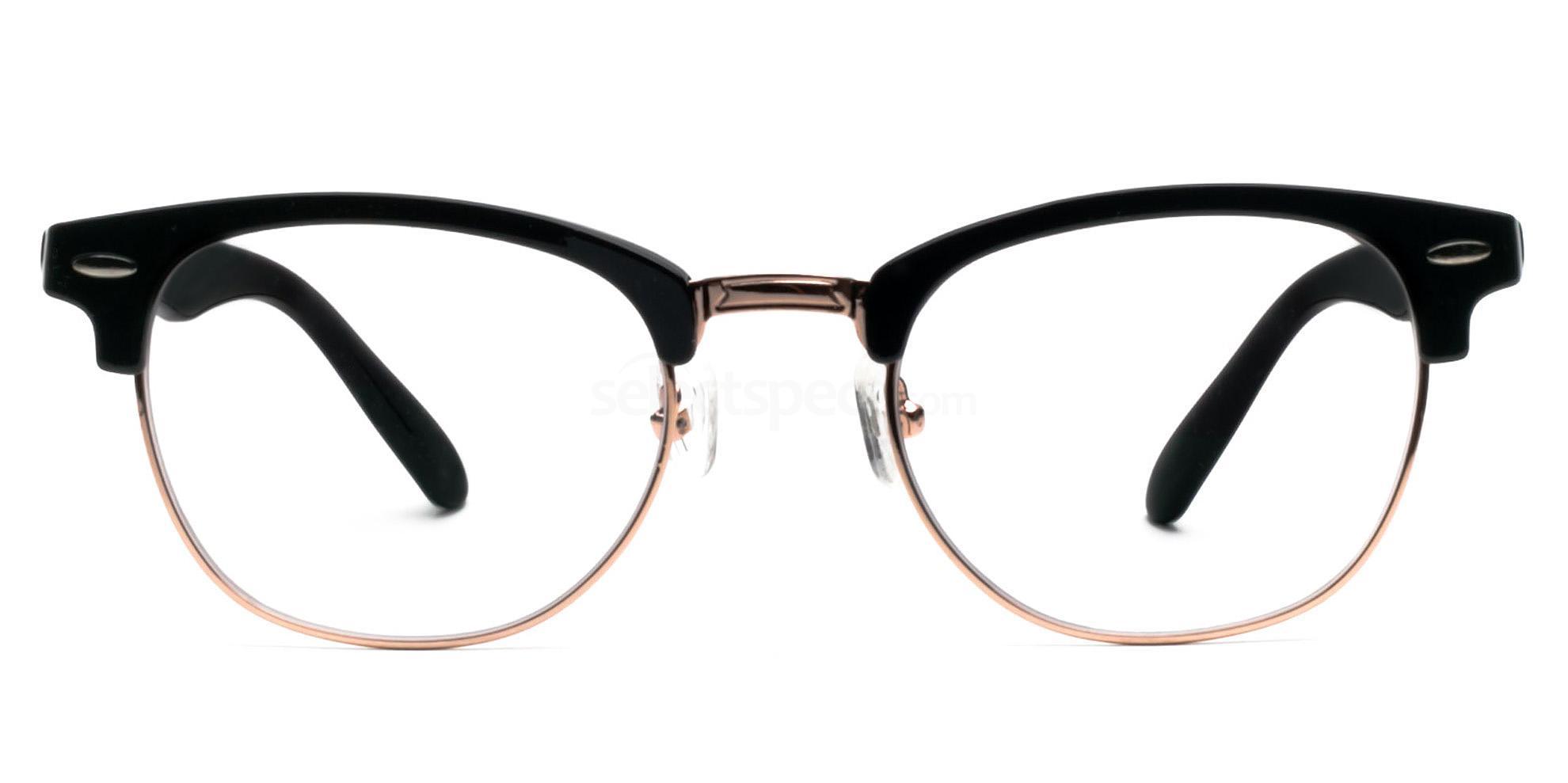 Hallmark-Clubmaster-Style-Prescription-Glasses-SelectSpecs
