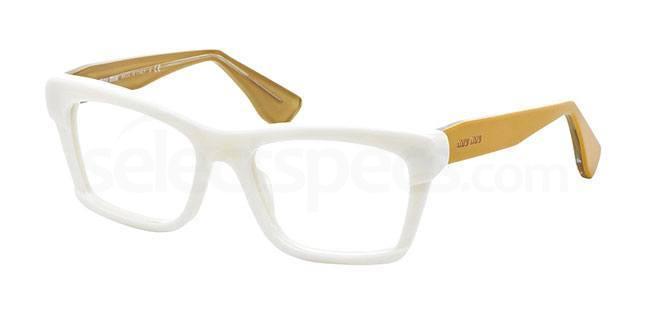 gold prescription glasses miu miu