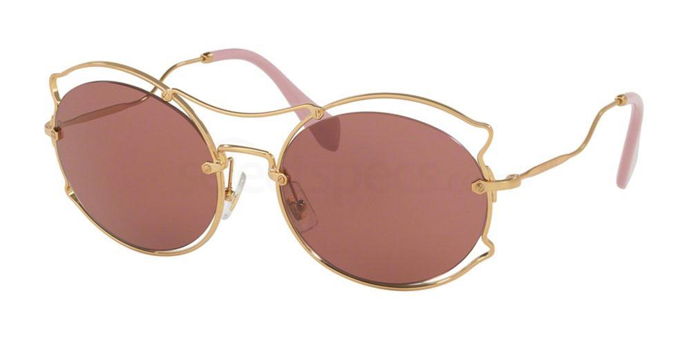 Pink Miu Miu sunglasses