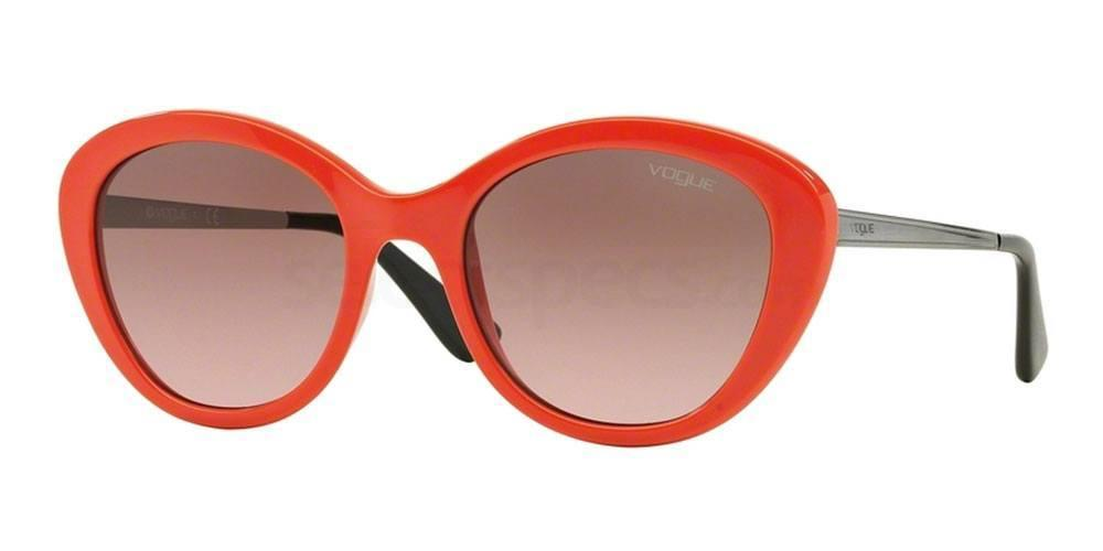 Cat eye orange sunglasses VOGUE