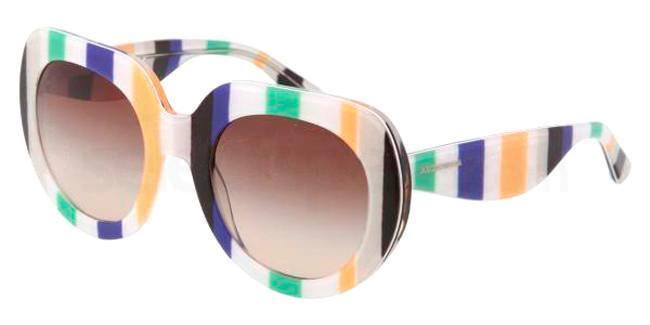 60s stripe sunglasses dolce gabbana