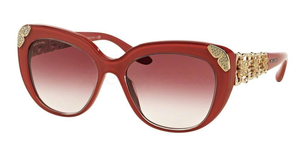 Bvlgari BV8162B sunglasses red