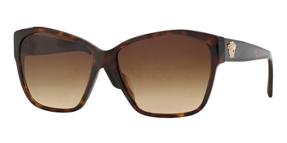 Versace brown grade miroslava duma style sunglasses