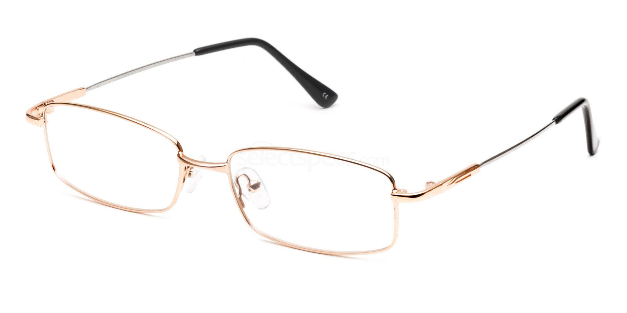 Savannah 3215 gold metal rim prescription glasses