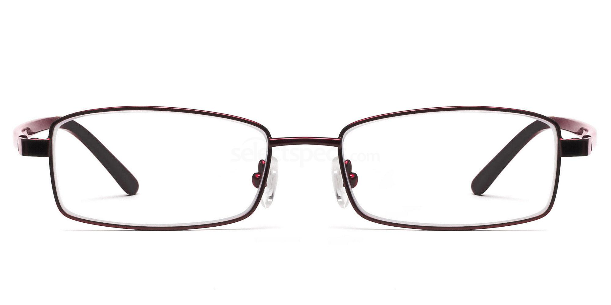 Savannah 6058 - Red Prescription Glasses. Free lenses ...