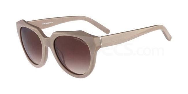 nude sunglasses karl lagerfeld