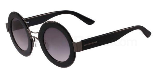 Karl Lagerfeld black/cool  round shaped sunglasses
