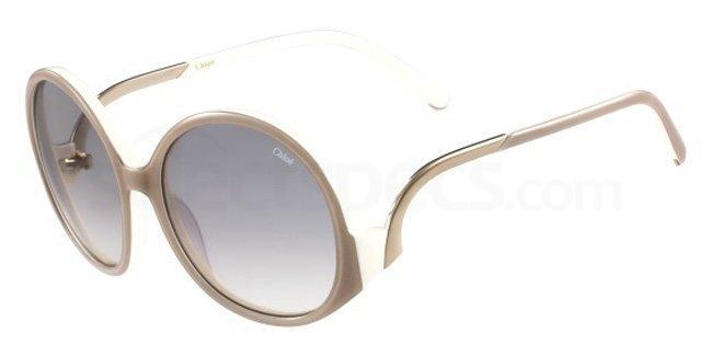 nude sunglasses for women chloe