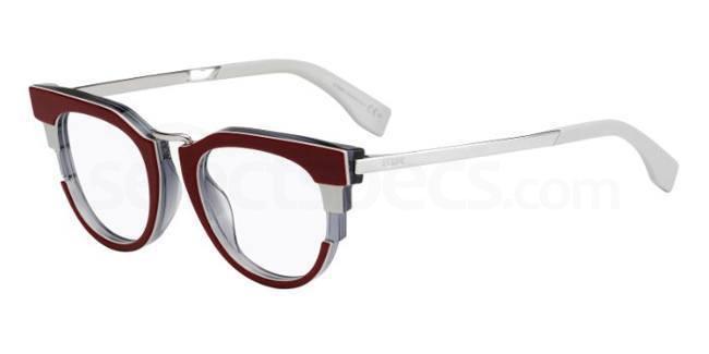 Fendi Glasses Gold Frames : Fendi FF 0115 glasses Free lenses SelectSpecs