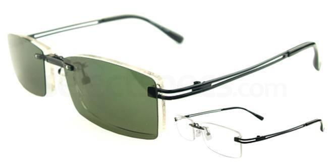e0af286fb0f Vista S9092 With Magnetic Polarized Sunglasses Clip-on glasses