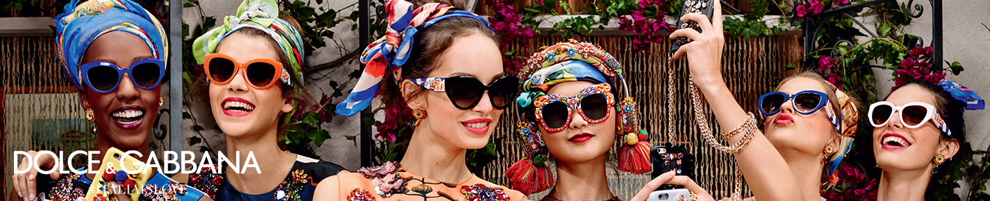 Dolce & Gabbana Sunglasses banner