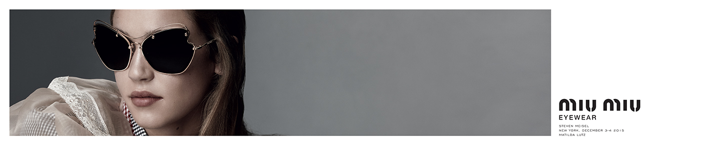 Miu Miu Sunglasses banner