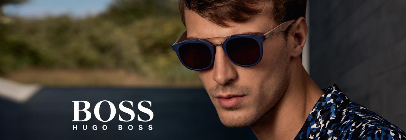BOSS Hugo Boss Sunglasses banner