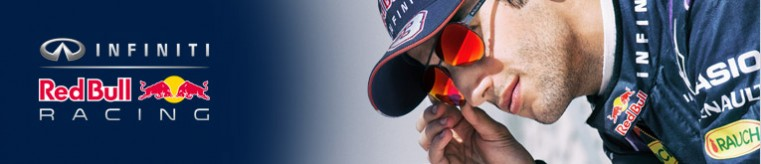 Red Bull Racing Eyewear Sunglasses banner