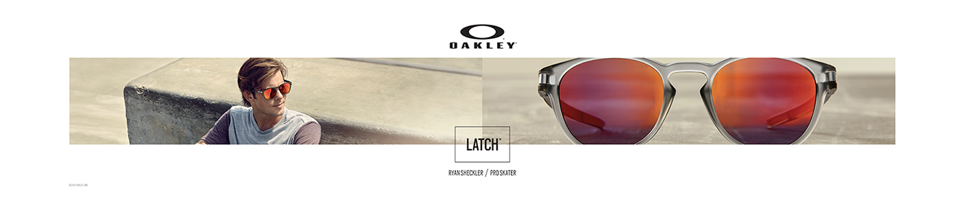 Oakley Sunglasses banner