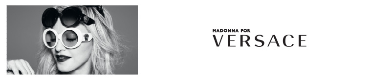 Versace Sunglasses banner