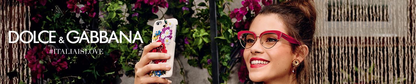 Dolce & Gabbana Eyeglasses banner