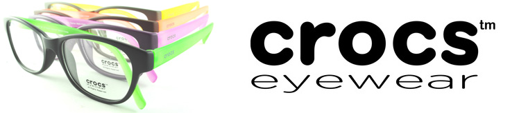 Crocs Eyewear Glasses banner
