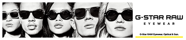 G-Star RAW Glasses banner