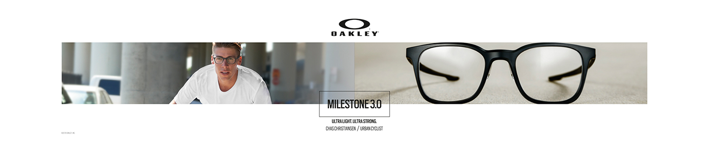 Oakley Glasses banner