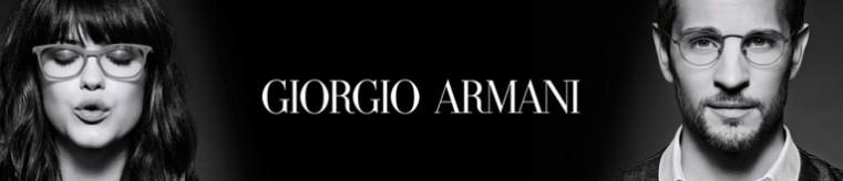 Giorgio Armani Eyeglasses banner