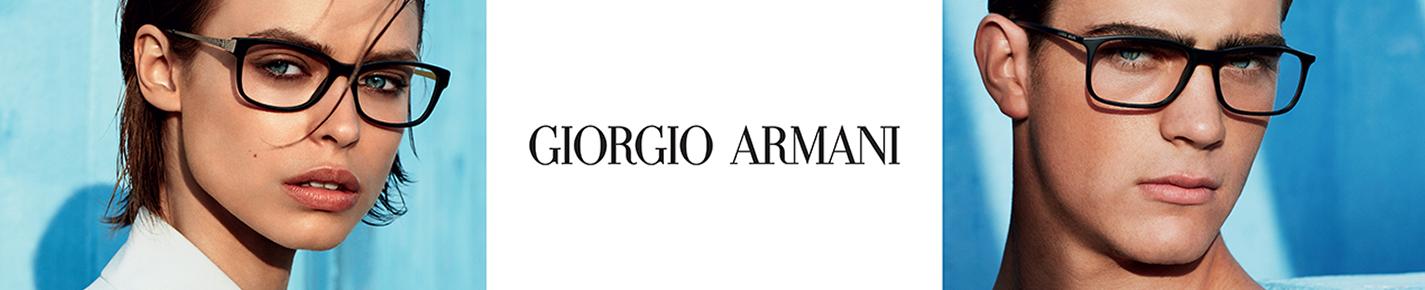 Giorgio Armani Glasses banner