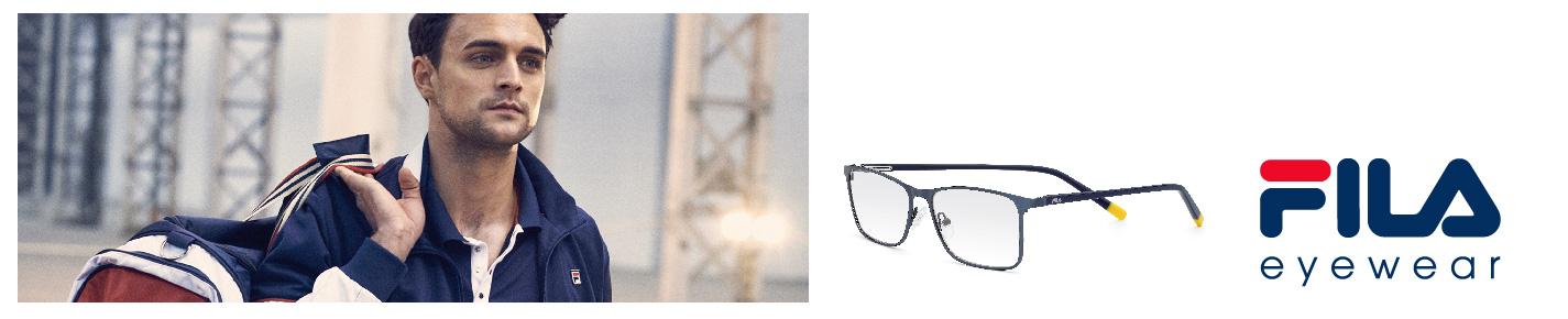 Fila Eyeglasses banner