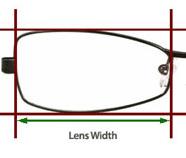 Size Guide - Lens Width Measure