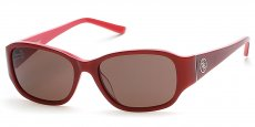 66E shiny red / brown