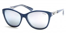 90C shiny blue / smoke mirror