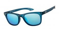 105P MATTE BLUE CRYSTAL . ICE BLUE REVO