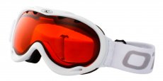 GLOSS WHITE Gloss White (Lens: Orange, Strap: White strap with Grey logo)