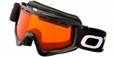 GLOSS BLACK Gloss Black (Lens: Orange, Strap: Black strap with white logo)